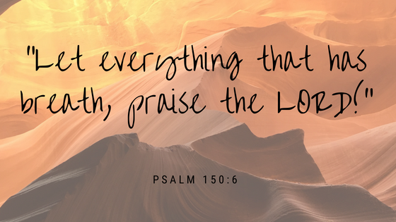 """Let everything that has breath, praise the Lord!_ (1)"